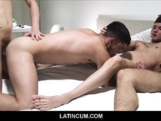 amateur Straight Tiro Young Latino Little shaver Paid Ripping For Gay Orgy twink